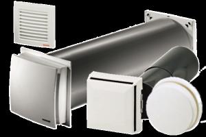 Maico ALD - приточные клапана для монтажа в стены различной толщины