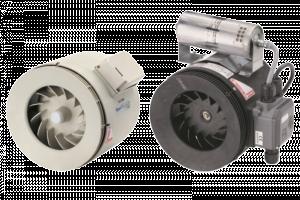 Maico ERM / ERM Ex e - полуцентробежный трубный вентилятор
