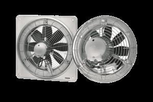 Maico ЕZQ, EZS / DZQ, DZS - настенные осевые вентиляторы