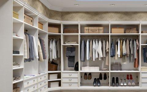 Установка вентиляции в гардеробе