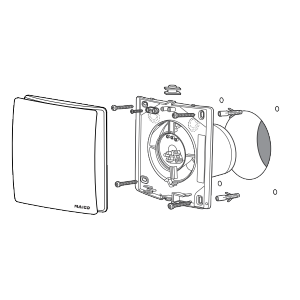 Вентилятор Maico AWB 150 HC