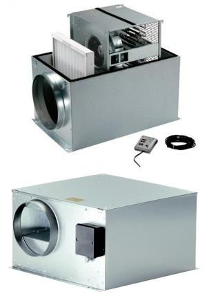 Maico ECR и ECR-A - приточная и вытяжная вентиляционные установки